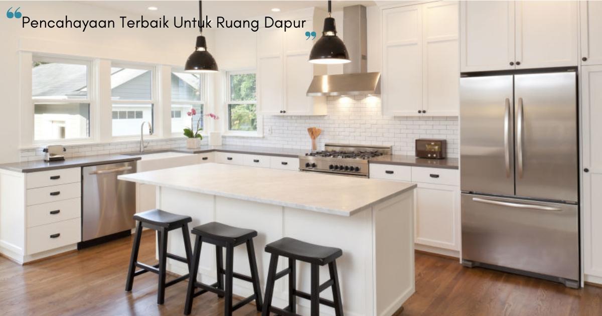 Nak Ruang Dapur Nampak Cantik Teknik