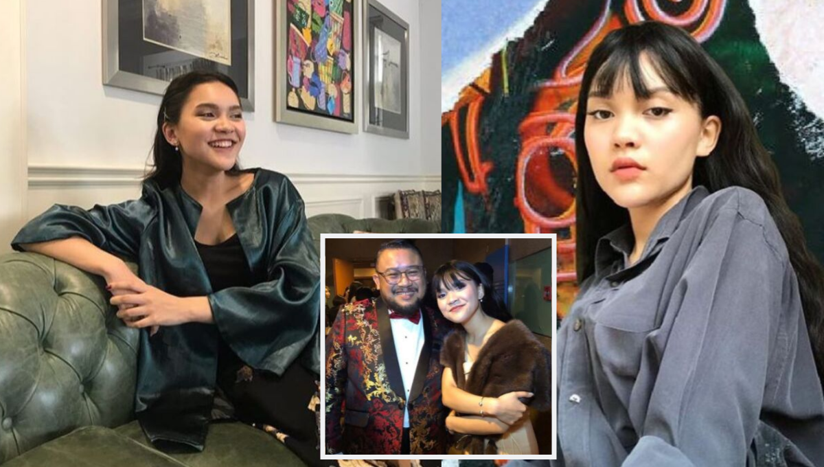 Ikut Jejak Bapa Jadi Anak Seni Ini Wajah Cantik Mia Sara Anak Gadis Afdlin Shauki Nona