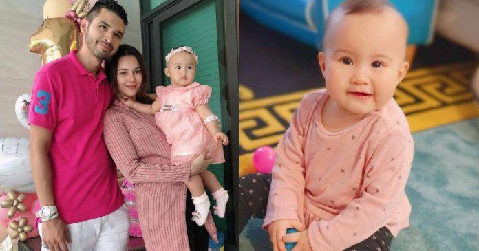Tengku Kamilah Zanariah Josephine Ehsan Shah PERMATA HATI CP Juliana Evans Dah Berusia Setahun